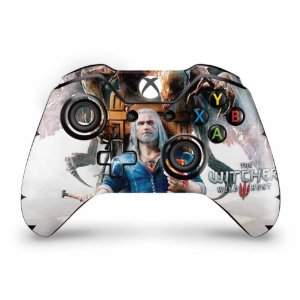 Skin Xbox One Fat Controle - The Witcher 3 Blood And Wine