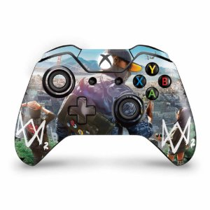 Skin Xbox One Fat Controle - Watch Dogs 2