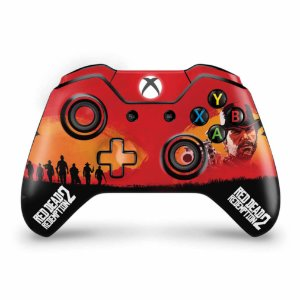 Skin Xbox One Fat Controle - Red Dead Redemption 2