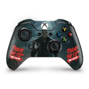 Skin Xbox One Fat Controle - Friday the 13th The game - Sexta-Feira 13