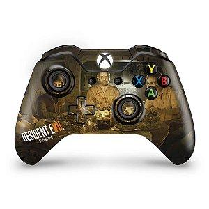 Skin Xbox One Fat Controle - Resident Evil 7: Biohazard