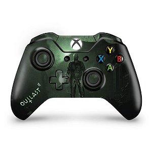 Skin Xbox One Fat Controle - Outlast 2
