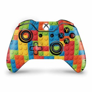 Skin Xbox One Fat Controle - Lego