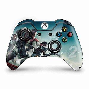 Skin Xbox One Fat Controle - Destiny 2