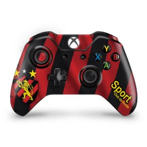 Skin Xbox One Fat Controle - Sport Club do Recife