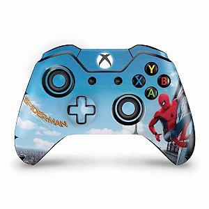 Skin Xbox One Fat Controle - Homem Aranha - Spiderman Homecoming