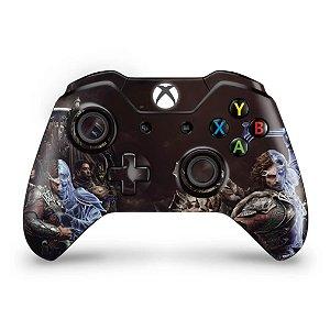 Skin Xbox One Fat Controle - Shadow of War