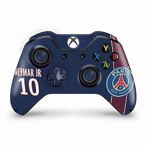 Skin Xbox One Fat Controle - Paris Saint Germain Neymar Jr PSG