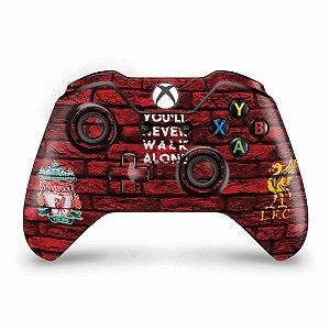 Skin Xbox One Fat Controle - Liverpool