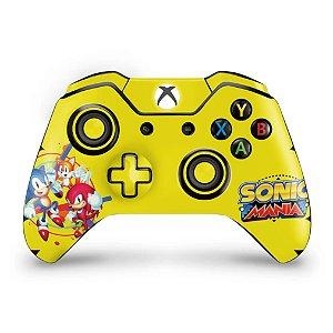 Skin Xbox One Fat Controle - Sonic Mania