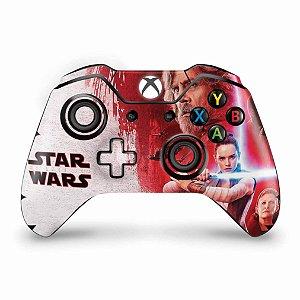 Skin Xbox One Fat Controle - Star Wars The Last Jedi