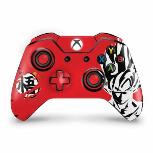Skin Xbox One Fat Controle - Dragon Ball Goku Kaiô