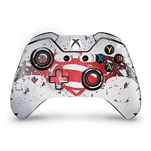 Skin Xbox One Fat Controle - Batman vs Superman Logo