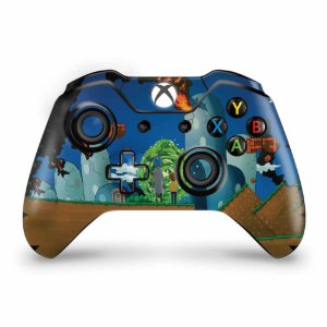 Skin Xbox One Fat Controle - Rick And Morty Mario