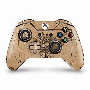 Skin Xbox One Fat Controle - Assassin's Creed Vitruviano
