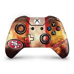 Skin Xbox One Fat Controle - San Francisco 49ers - NFL