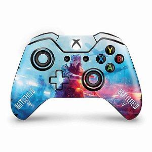 Skin Xbox One Fat Controle - Battlefield V