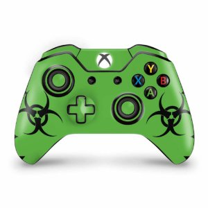 Skin Xbox One Fat Controle - Biohazard Radioativo