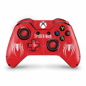 Skin Xbox One Fat Controle - Spider-man Bundle