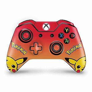 Skin Xbox One Fat Controle - Pokemon Pikachu