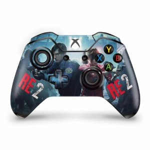 Skin Xbox One Fat Controle - Resident Evil 2 Remake