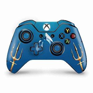 Skin Xbox One Fat Controle - Aquaman