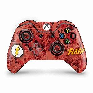 Skin Xbox One Fat Controle - The Flash Comics