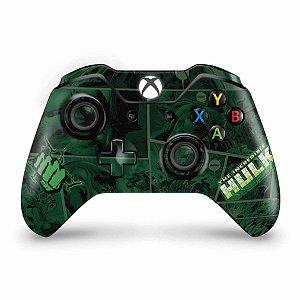 Skin Xbox One Fat Controle - Hulk Comics
