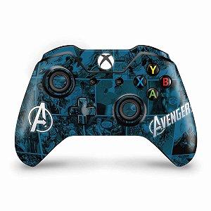 Skin Xbox One Fat Controle - Avengers Vingadores Comics