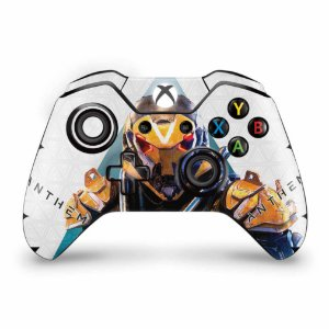 Skin Xbox One Fat Controle - Anthem