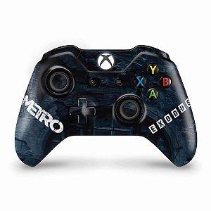 Skin Xbox One Fat Controle - Metro Exodus