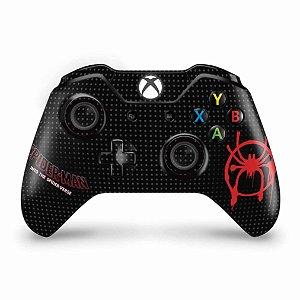 Skin Xbox One Fat Controle - Homem-Aranha no Aranhaverso