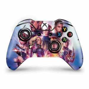 Skin Xbox One Fat Controle - Vingadores Ultimato Endgame