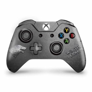 Skin Xbox One Fat Controle - Game Of Thrones Stark