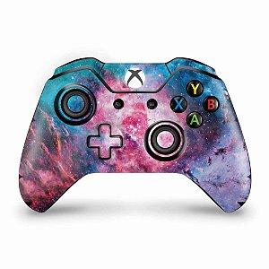 Skin Xbox One Fat Controle - Universo Cosmos