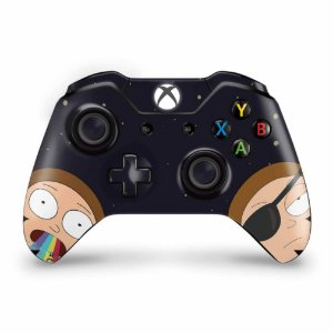 Skin Xbox One Fat Controle - Morty Rick and Morty