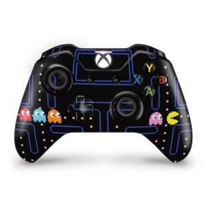 Skin Xbox One Fat Controle - Pac Man