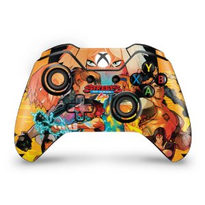 Skin Xbox One Fat Controle - Streets of Rage 4