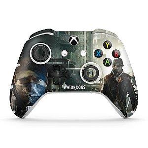 Skin Xbox One Slim X Controle - Watch Dogs