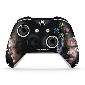 Skin Xbox One Slim X Controle - Metal Gear Solid V