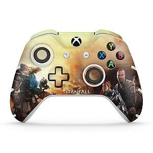 Skin Xbox One Slim X Controle - Titanfall