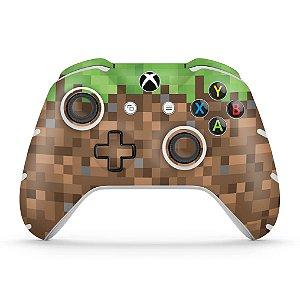 Skin Xbox One Slim X Controle - Minecraft
