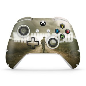 Skin Xbox One Slim X Controle - The Walking Dead