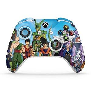 Skin Xbox One Slim X Controle - Dragon Ball Z