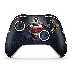 Skin Xbox One Slim X Controle - Superman - Super Homem