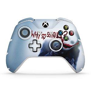 Skin Xbox One Slim X Controle - Coringa - Joker