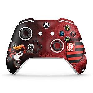 Skin Xbox One Slim X Controle - Flamengo