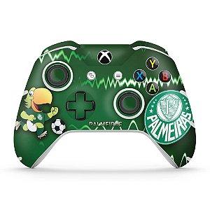 Skin Xbox One Slim X Controle - Palmeiras