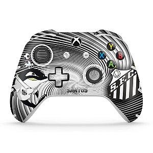 Skin Xbox One Slim X Controle - Santos