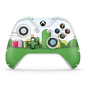 Skin Xbox One Slim X Controle - Super Mario